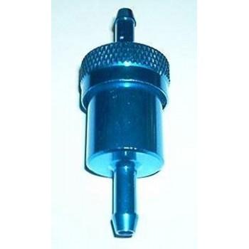 Benzinefilter Edge aluminium blauw