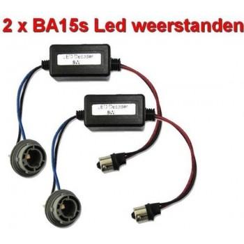 12Volt decoders voor BA15s LED lampen