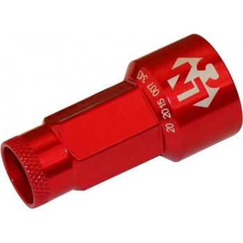 Foliatec Lug Nuts 17 Mm Rood 20 Stuks