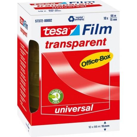 Tesa Office Film - Transparant - 66 m x 15 mm
