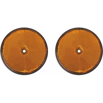 Proplus Reflectoren 80 Mm Oranje 2 Stuks In Blister