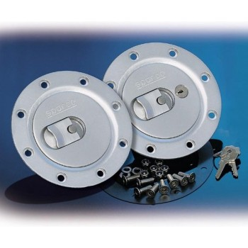 Sparco Universele Tankdop - Geanodiseerd Aluminium - Te monteren icm SP 270096