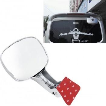 Auto Achterbank Achteruitkijkspiegel Achterkant Achteruitkijkspiegel Kinderen Waargenomen binnenspiegel (zilver)