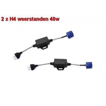 12Volt digitale decoders voor canbus H4 ledlampen