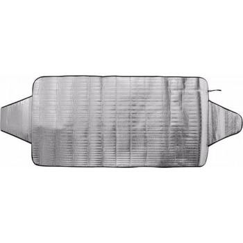 2x Auto zonneschermen/anti vorst dekens L 85 x 180 cm- Zonneschermen anti vriesscherm raamdeken