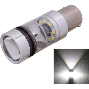 1156 850LM BA15S 100W LED Wit Licht Auto Achter Backup / Front richtingaanwijzers Lamp, DC 12-24V