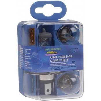 Pro+ Autolamp Set H4 / 12V (8 Delig)