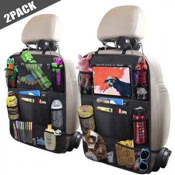 Nince premium luxe & stevige autostoel organizer met tablet houder - Set van 2 - Auto stoel organiser -