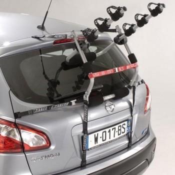 Mottez - Fietsendrager met spanbanden standaard (3 fietsen)