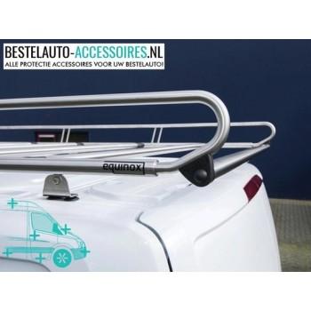 RVS Imperiaal Opel Vivaro | Opel Vivaro 2014+ | L1H1 Achterdeuren