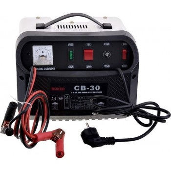 Boxer Autobatterij-lader - acculader - 12/24 V - 20 A