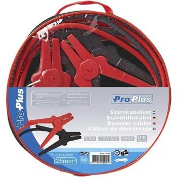 Startkabel set 350 Ampere - 25mm2 - 3,5 meter - Met opbergtas met ritssluiting - Autopech - Startkabels