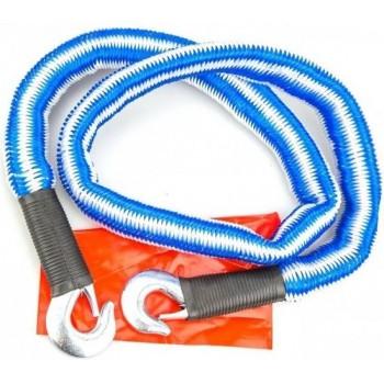 Bavepa elastische sleepkabel blauw