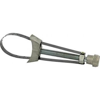 Oliefiltersleutel verstelbaar met metalen band