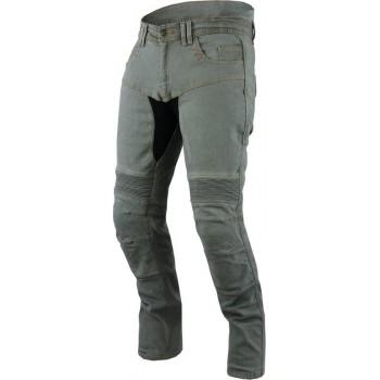 JET - Motorbroek Spijkerboek - Kevlar Safety Broeken Aramide gevoerd CE - Protectie Stretch Panels Tech Pro (Blauw, W 32 L 30)