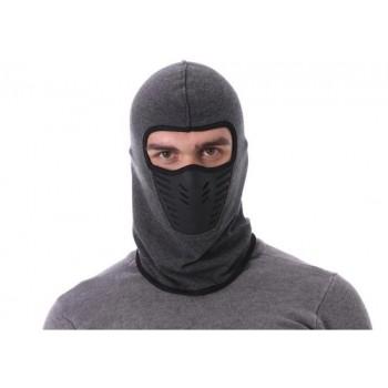 Bivakmuts - balaclava - Bivak - Motor Gezichtsmasker - Ski Masker - Muts - Grijs - heren en dames