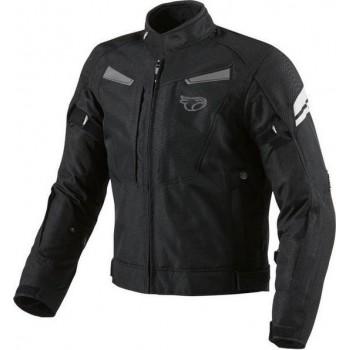 JET Textiele Motorjas Heren - Zwart - Maat 4XL
