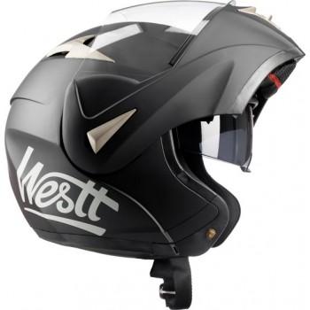 Westt Torque Systeemhelm - Motorhelm - Zwart - Maat XL