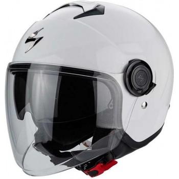 Scorpion Jethelm EXO-City Solid White-L