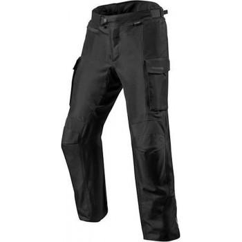 REV'IT! Outback 3 Short Black Textile Motorcycle Pants L