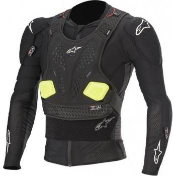 Alpinestars Bionic Pro V2 Black Yellow Fluo Protection Jacket L
