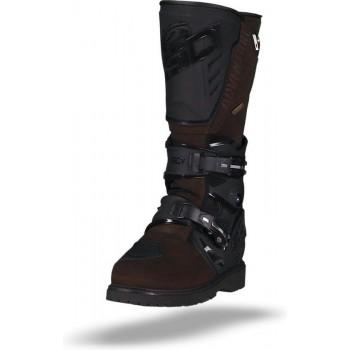 Sidi Adventure 2 Gore-Tex Black Brown Motorcycle Boots 50