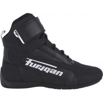 Furygan Zephyr D3O Black White Motorcycle Shoes 43