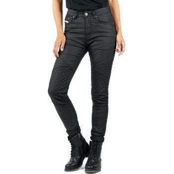 John Doe Betty Biker Jeggings Black Kevlar Motorcycle Jeans 33/32