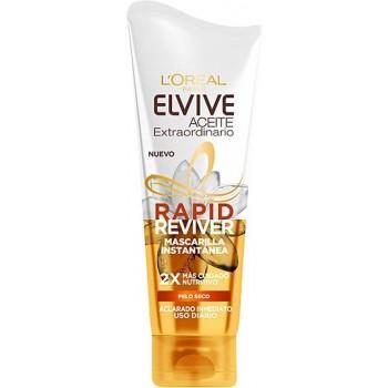 Elvive Rapid Reviver Aceite Extraord. Mascarilla 180 ml