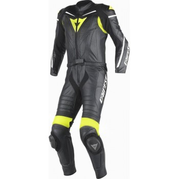 Dainese Laguna Seca D1 zwart/fluor geel