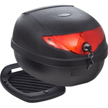 Topkoffer voor motorfietsen 36 L voor 1 helm