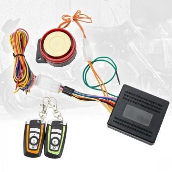 Scooter Alarm  Motor Alarm   Met afstand starten   12V   Alarmsysteem 125 db   Anti-diefstal   Sleutel met afstandsbediening