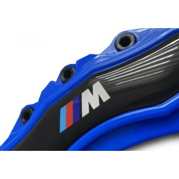 BMW Remklauw Cover | Brake Caliper Cover | Blauw | M Logo | Universeel - Voor Alle Bmw's | Bmw Accesoires | Auto Accessoires