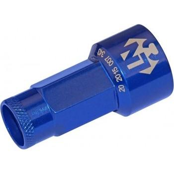 Foliatec Lug Nuts 19 Mm Blauw 20 Stuks