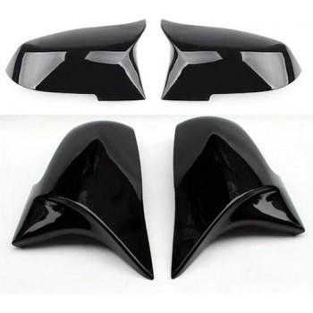 BMW F20 M spiegelkappen in het kleur hoogglanszwart (pianoblack)