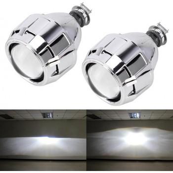 IPHCAR G260 H1 2.5 inch 12V Bi-Xenon projector Lens koplamp voor links rijden (wit licht)