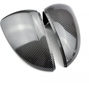 VW Golf 7 MK 7 GTI GTE R 7 7 R Spiegel Covers Caps Zijspiegel Case Cover Carbon Look 2 Stuks   Carbon Fiber