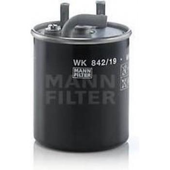 MANN FILTER Brandstoffilter WK842 / 19