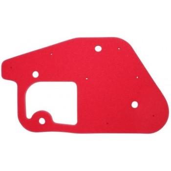 schuim luchtfilter aanpasbare scoot mbk 50 booster, stunt / yamaha 50 bws, slider (rood) -artein-