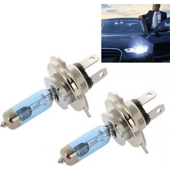 2 STKS PEGASUS H4 Halogeen Auto Koplamp Lamp, 2000 Lumens Warm Wit Licht, 12 V / 90 W 5000 K